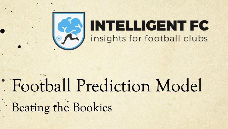 Football Prediction Model – It's Profitable!!! (Video